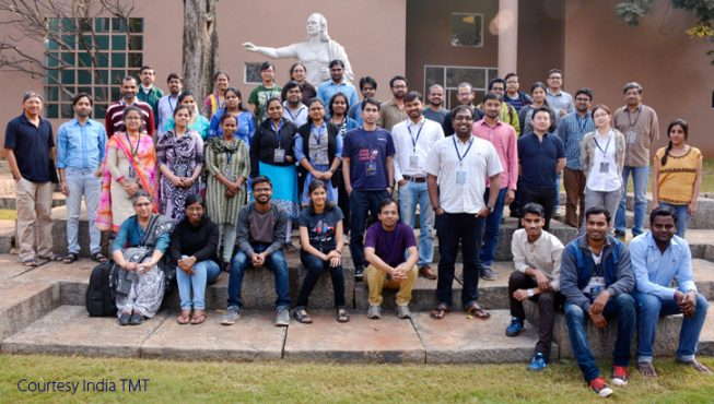 ワークショップは1月16日~26日に行われ、TMTのサイエンスや観測装置についての発表もありました。 (TMT-インド 提供)