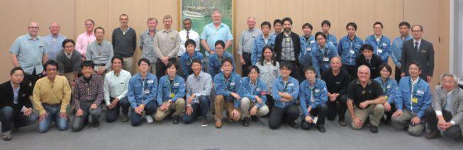 国際審査会(第3弾)は、2016年12月7日から9日に、尼崎市の三菱電機株式会社(MELCO)で行われ、国立天文台、MELCO、TMT国際天文台などから合計42名が参加しました。そのうち審査員は11名。ウォルト・ディズニー社とKeck望遠鏡の技術者も外部委員として審査を行いました。