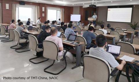 研究会は、中国TMT SAC メンバーの協力のもと、中国科学院国家天文台(NAOC)で開催されました。(写真提供:NAOC)